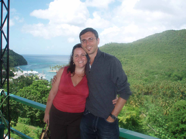 Sharla & Jesse in St. Lucia